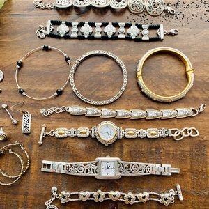 Brighton Jewelry, necklaces, earring, bracelets.